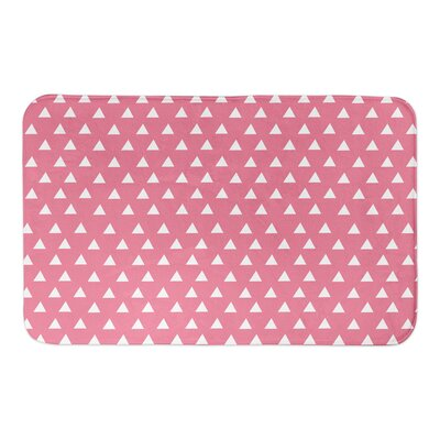 Kory Bath Rug Color: Pink