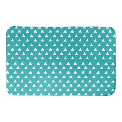 Kory Bath Rug Color: Teal