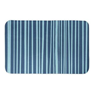 Binx Bath Rug Color: Blue