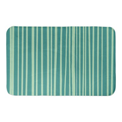 Binx Bath Rug Color: Teal