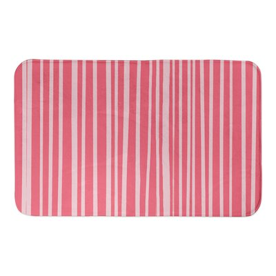 Binx Bath Rug Color: Pink