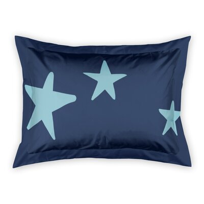 Landgraaf Stars Sham Color: Blue