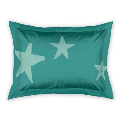 Landgraaf Stars Sham Color: Teal