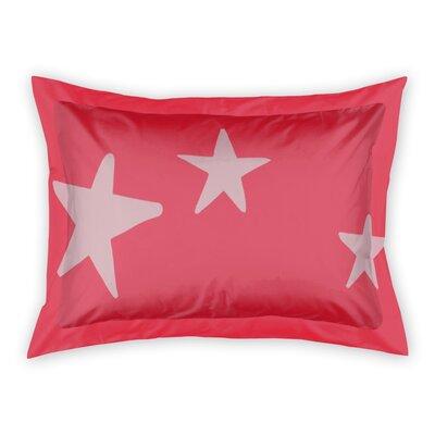Landgraaf Stars Sham Color: Pink