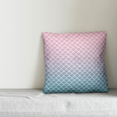 Jarret Mermaid Scales Throw Pillow