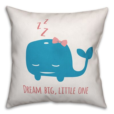 Jered Dream Big Little One Throw Pillow
