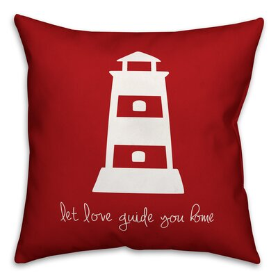 Kacie Love Guide Home Throw Pillow