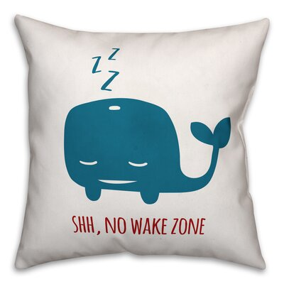 Jered Sleepy Whale Throw Pillow