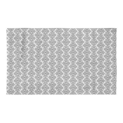 Kennison Gray Area Rug Rug Size: 3 x 5