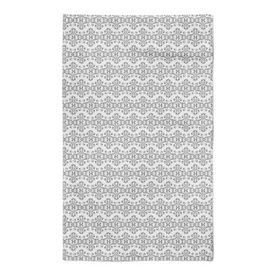 Kennison Gray Area Rug Rug Size: 5 x 7