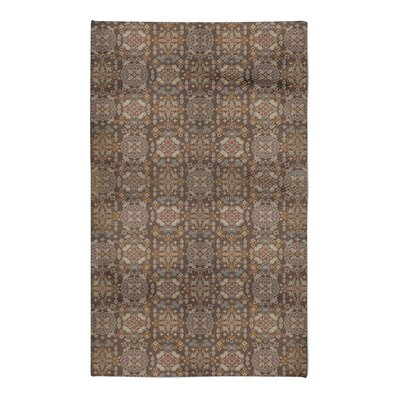 Hemenway Tile Brown Area Rug Rug Size: 5 x 7