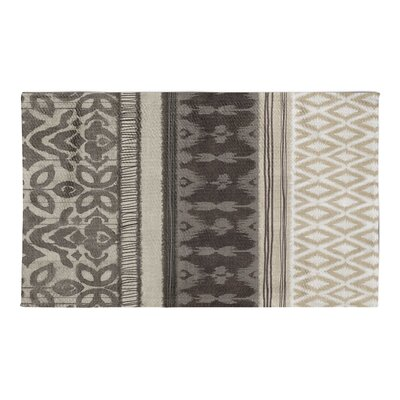 Masam Gray/Brown Area Rug Rug Size: 3 x 5