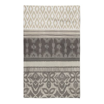 Masam Gray/Brown Area Rug Rug Size: 5 x 7