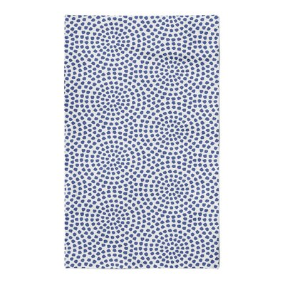 Fayette Navy Area Rug Rug Size: 5 x 7