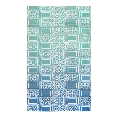 Townsend Blue Area Rug Rug Size: 5 x 7