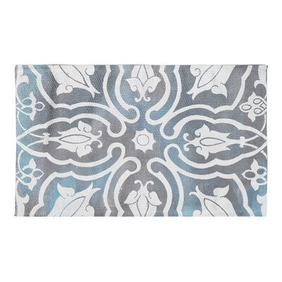 Julian Gray/Blue Area Rug Rug Size: 3 x 5