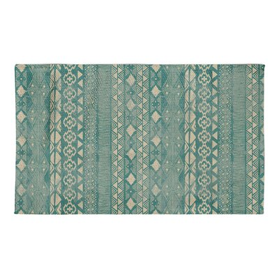 Masam Green Area Rug Rug Size: 3 x 5