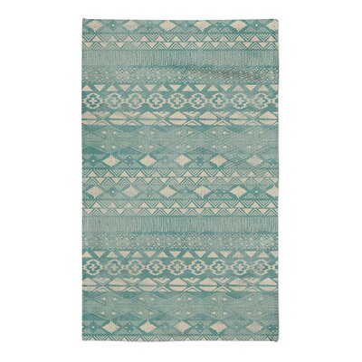 Masam Green Area Rug Rug Size: 5 x 7