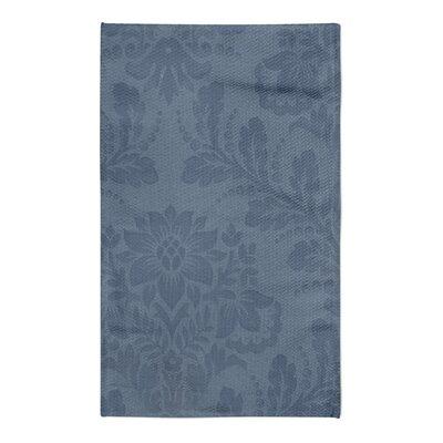 Jorgensen Floral Blue Area Rug Rug Size: 5 x 7