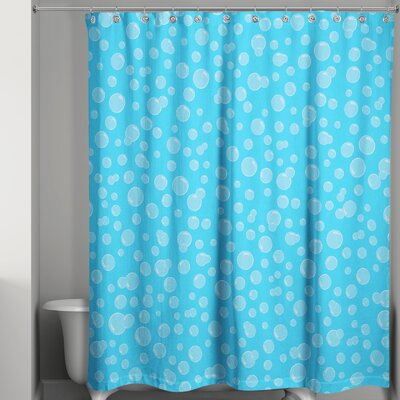 Kennith Bubbles Shower Curtain