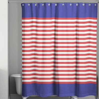 Joe Nautical Shower Curtain