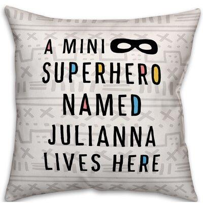 Heckstall Superhero Throw Pillow