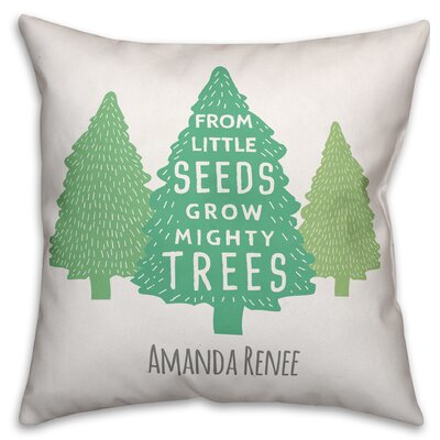 Diehl Little Seeds Mighty Tree Throw Pillow