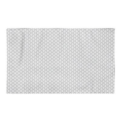 Helene White/Gray Area Rug Rug Size: 3 x 5
