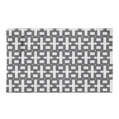 Waverly Gray Area Rug Rug Size: 3 x 5