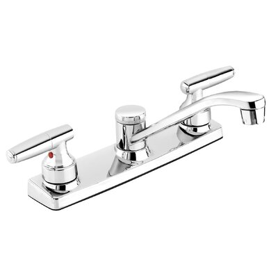 Essential Double Handle Standard Kitchen Faucet