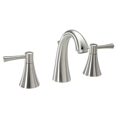 Essential Style Widespread Double Handle Bathroom Faucet Finish: Brushed Nickel