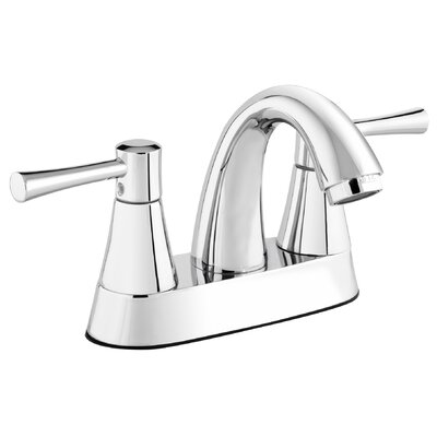 Essential Style Centerset Double Handle Bathroom Faucet