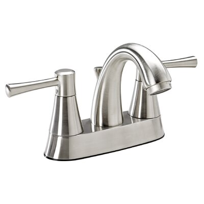 Essential Style Centerset Double Handle Bathroom Faucet Finish: Brushed Nickel