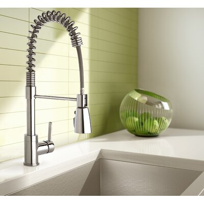 Essential Pull Down Single Handle Kitchen Faucet