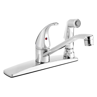 Essential Single Handle Kitchen Faucet with Side Spray