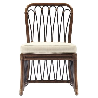 Sona Side Chair Finish: Cinnamon/Espresso