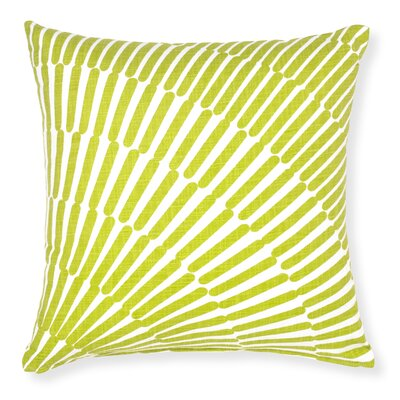 Rapee Array Throw Pillow Color: Lime