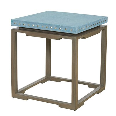 Shanghai End Table Table Top Color: Jade