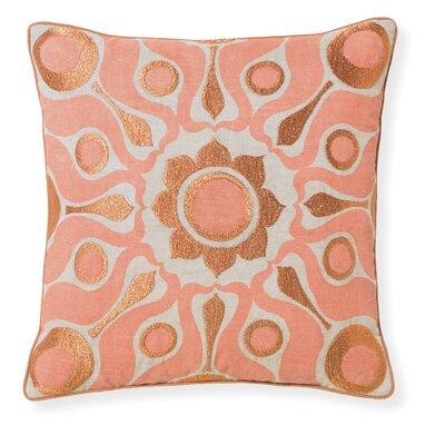 Florence Broadhurst Solar Throw Pillow Color: Papaya