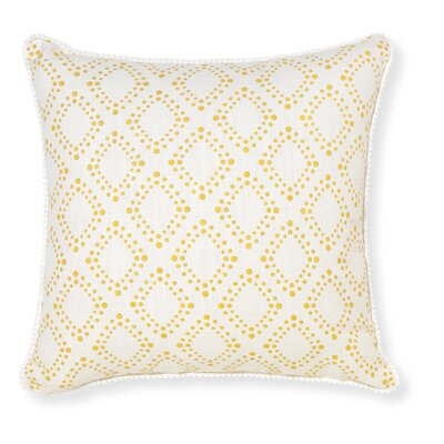 Rapee Amore Throw Pillow Color: Mustard