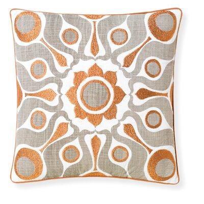 Florence Broadhurst Solar Throw Pillow Color: Dove