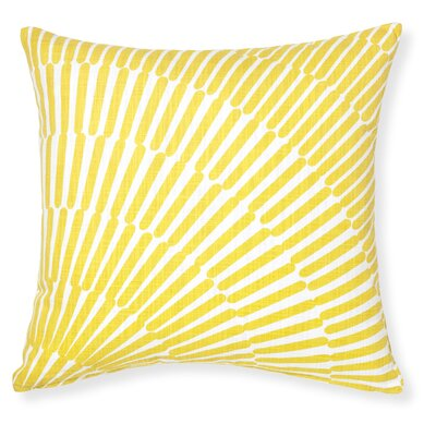 Rapee Array Throw Pillow Color: Yellow
