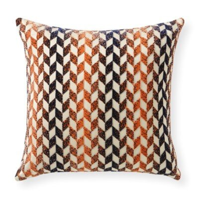 Rapee Grand Jewel Throw Pillow Color: Copper