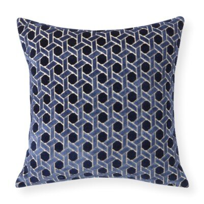 Rapee Grand Circle Throw Pillow Color: Dusk