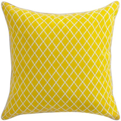 Florence Broadhurst Throw Pillow Color: Yellow