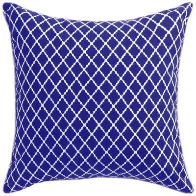 Florence Broadhurst Throw Pillow Color: Blue