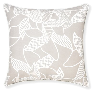 Rapee Outdoor Throw Pillow Color: Cement