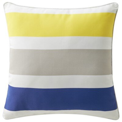 Rapee Cabana Outdoor Throw Pillow Color: Splash Cobalt