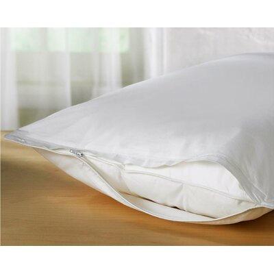 Standard Vinyl Zippered Pillow Protector