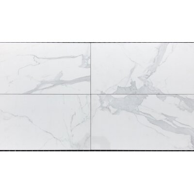 Mirage 12 x 24 Ceramic Field Tile in White